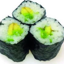 Avocado mini rolls - fujiyamabristol.co.uk