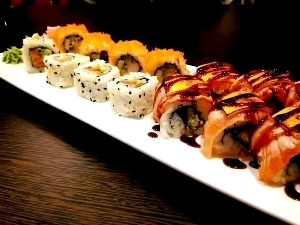 Sushi mini rolls - fujiyamabristol.co.uk ©2016