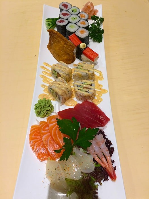 sushi platter - fujiyamabristol.co.uk copyright 2016